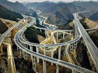 W Chinach autostrady budują z takim rozmachem