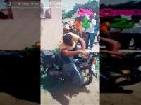 Niespodzianka pod siedzeniem motocykla