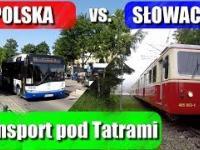 Na Słowacji kolejka wzdłuż Tatr, a po polskiej stronie busiarze
