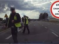 Bezpieczny pieszy , bezpieczny policjant - zasady bezpieczeństwa obowiązują każdego