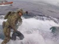 Straż przybrzeżna przejmuje łódź podwodną