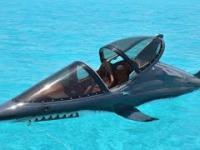 Sztuczny rekin w akcji