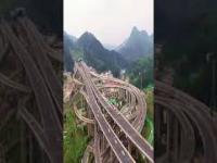 Pięciopoziomowy węzeł drogowy w Guiyang