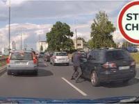 Agresja drogowa w warszawskich korkach