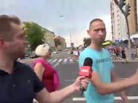 Elokwentna wypowiedź na Marszu Równości w Białymstoku
