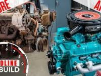 Renowacja i odbudowa silnika V8.