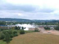 Wykolejenie pociągu w Czechach