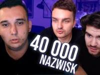 Youtuber czyta wszystkie polskie nazwiska