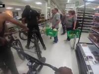 """Wielka Brytania: """"Gang"""" gówniarzy na rowerach sterroryzował sklep"""