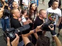 Obrończyni polskiej rodziny w starciu z policją