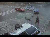 Uciekający przed policją doprowadza do wypadku