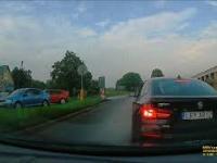 Ryki - Nieoznakowane BMW prawie doprowadza do kolizji