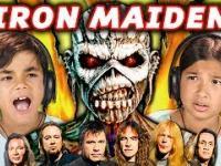 Reakcja dzieciaków na muzykę IRON MAIDEN