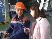 Chiński pracownik w Rosji