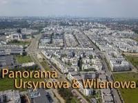 Panorama Ursynowa i Wilanowa