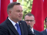 Andrzej Duda nie wytrzymuje i musi opowiedzieć anegdotę