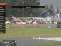 Karambol w wyścigu Citroenów. Niemal wszyscy kierowcy wypadli na jednym zakręcie