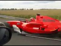 Formula na czeskiej autostradzie