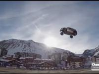 Rekord świata w próbie skoku samochodu coś poszło nie tak