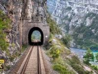 Linia Capljina - Sarajevo - 99 tuneli i 65 mostów