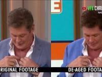 David Hasselhoff młodnieje w telewizji z pomocą technologii deep fake