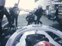 Skandaliczne zagranie Williamsa wobec Kubicy podczas GP Soczi