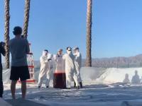 Eksperyment chemiczny w dużej skali