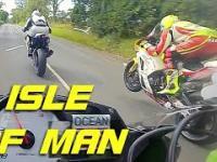 Ostatnie okrążenie ISLE OF MAN, najbardziej ekstremalnego wyścigu na motocyklach