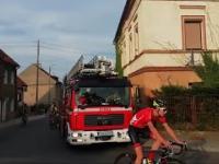 Straż pożarna ma problem przez rowerki