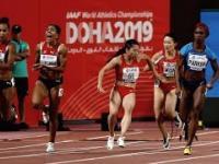 Chińskich sprinterek przygoda z pałką