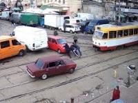 Matiz kontra tramwaje
