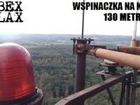 Wspinaczka na 130-metrowy komin opuszczonego obiektu