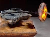 Świetna diorama czołgu