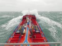 Praca na statku sztormy i nieprzespane noce!