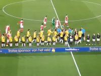 DZIĘKI - oprawa NAC Breda z okazji 75. rocznicy wyzwolenia Bredy przez Polaków