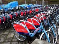 Zawieszenie systemu MEVO -kilkaset rowerów elektrycznych stoi bezużytecznie