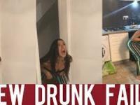 Kobieta wchodzi do samochodu, czyli kompilacja pijanych lasek