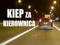 Kiep z Kielc za kierownicą rzuca rozżarzonymi petami