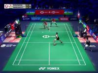 Chyba jedna z najlepszych wymian w badmintonie