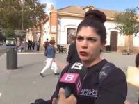 Kobieta po udzieleniu wywiadu na temat bezpieczeństwa została ...potrącona