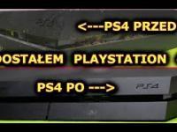 Dostał PS4 za darmo