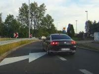 Kolejka Pana nie obowiązuje? Kultura jazdy szeryfa drogowego.