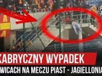 Kibic Jagielloni upadły w Gliwicach