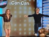 Jennifer Lopez tańczy u Ellen
