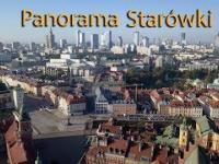 Poranek nad Starówką - Panorama Warszawy
