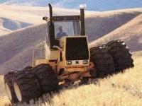 23 latek z Dakoty zbudował gigantyczny samopoziomujący się traktor