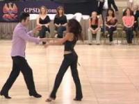 Jordan i Jessica - najlepsi w lokalnym konkursie swingu