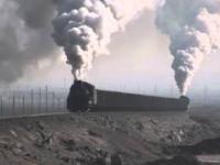 Chińskie parowozy w transporcie węgla