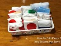 Jak łatwo złożyć foliowy worek w kostkę