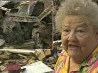 Staruszka w wyniku tornada straciła dom